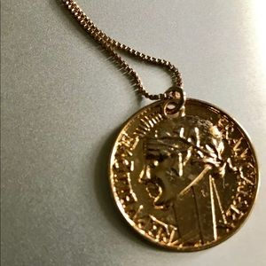 H&M Jewelry - Gold Coin Necklace - Long Chain - Jewelry